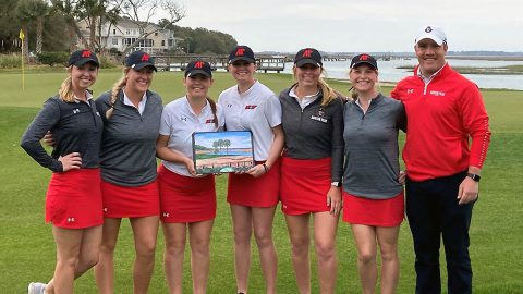 Austin Peay State University Women's Golf won the Flight Team Championship Tuesday at the Kiawah Island Classic. (APSU Sports Information)