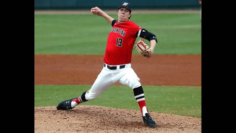 Austin Peay State University Baseball drops final game to Jacksonville, 7-0, Sunday. (APSU Sports Information)