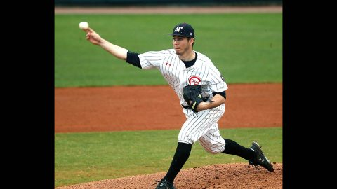 Austin Peay State University baseball pitcher Peyton Jula throws four scoreless innings to help Govs to 4-1 win over Southern Illinois, Wednesday. (APSU Sports Information)