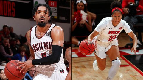 Austin Peay State University Men and Women Basketball teams begin OVC Tournament play this week. (APSU Sports Information)