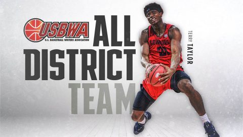 Austin Peay State University Men's Basketball junior Terry Taylor named to United States Basketball Writers Association's (USBWA) All-District IV team. (APSU Sports)