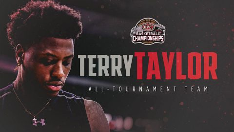 Austin Peay State University Basketball's Terry Taylor named to All OVC Tournament Team. (APSU)