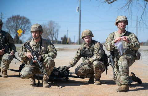 Austin Peay State University ROTC team is preparing for a second straight trip to the international Sandhurst military skills competition. (APSU)