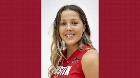 Austin Peay State University Women's Basketball freshman Ella Sawyer. (APSU Sports Information)