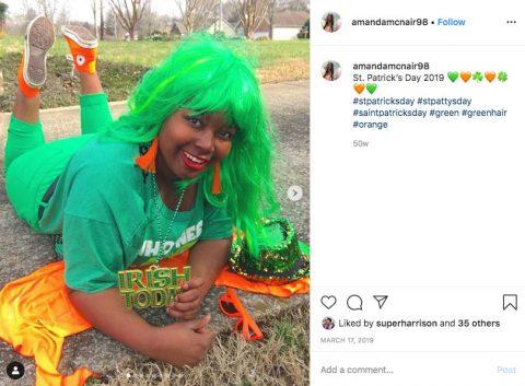 Austin Peay State University student Amanda McNair. (APSU)