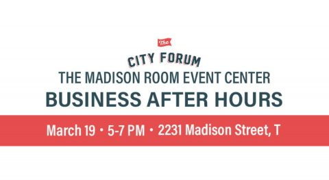 Business After Hours at The City Forum - March 19th