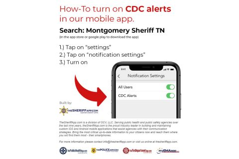 CDC Alerts - Montgomery County Sheriff's Office, Clarksville Tennessee