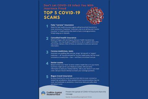 Coronavirus Insurance Scams