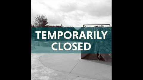 Heritage Park skate park will be closed from March 3rd-16th