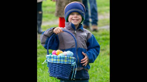 Age-based egg hunts are free to kids ages 1-12 at Historic Collinsville Pioneer Settlement on Saturday, April 4th. (Stephen Schlegel)