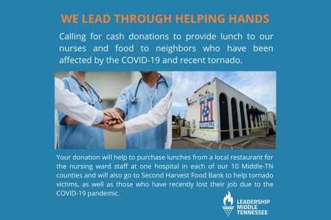 Leadership Middle Tennessee - We Lead Through Helping Hands