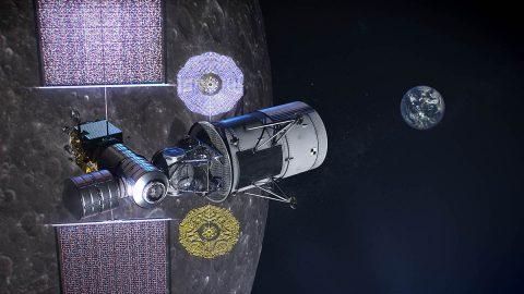 Concept for NASA's Gateway platform. (NASA)