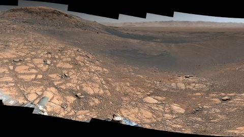 NASA's Curiosity rover captured its highest-resolution panorama of the Martian surface between Nov. 24 and Dec. 1, 2019. (NASA/JPL-Caltech/MSSS)