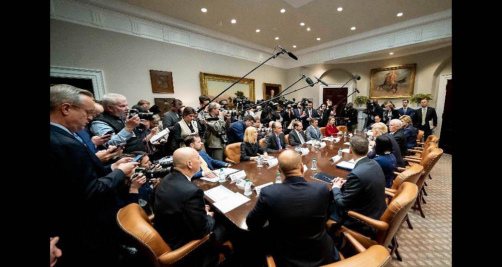 Coronavirus: White House says testing will ramp up in coming weeks