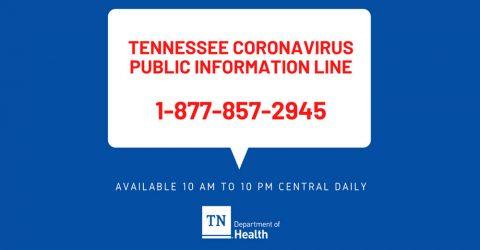 Tennessee Coronavirus Public Information Line