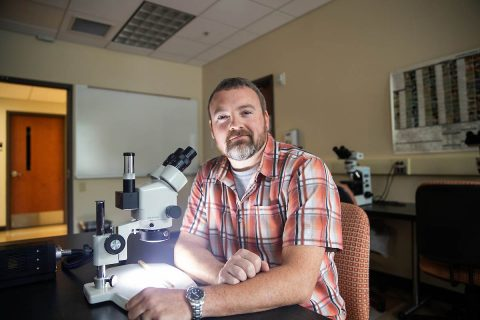 Austin Peay State University Professor Dr. Christopher Gentry. (APSU)