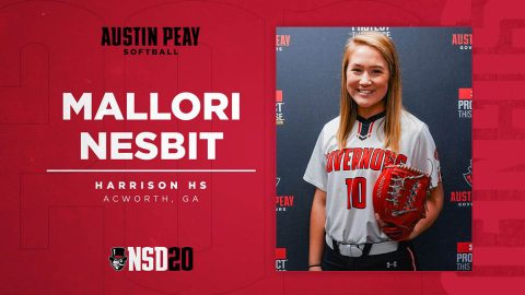 Austin Peay State University Softball adds Mallori Nesbit for 2020-21 season. (APSU Sports Information)