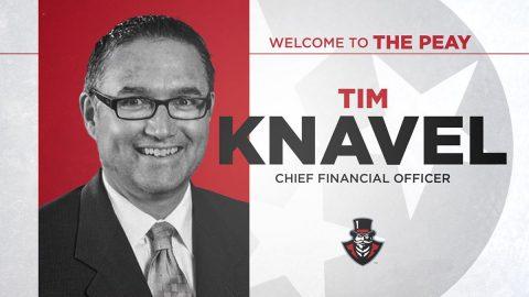 Austin Peay State University Athletics Chief Financial Officer Tim Knavel. (APSU Sports Information)