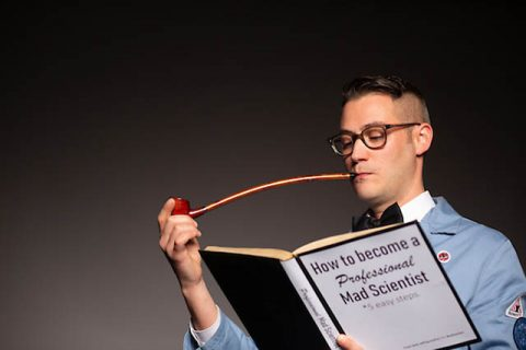 Austin Peay State University mad Scientist Bryan Gaither. (APSU)