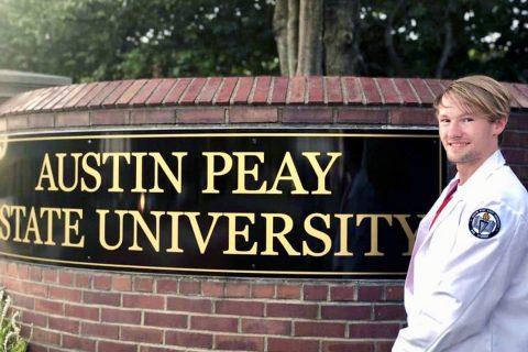 Austin Peay State University nursing student Rob Lee. (APSU)