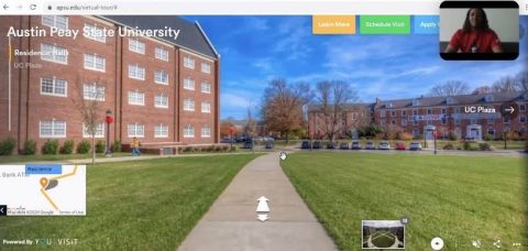 Austin Peay State University to hold Virtual Tours of the Campus. (APSU)