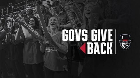 Austin Peay State University's Govs Give Back 2020. (APSU Sports Information)
