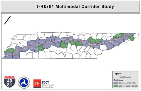 Interstates 40 and 81 Multimodal Corridor Study