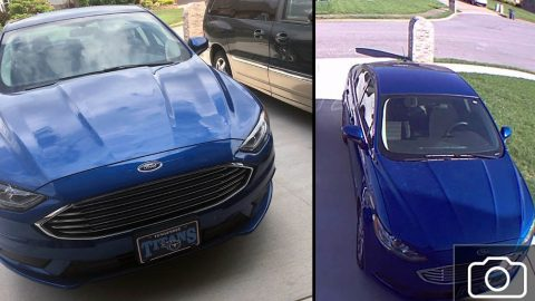 Montgomery County Sheriff's Office is trying to locate a stolen blue 2017 Ford Fusion that was taken from Browning Court April 14th.