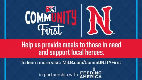 National Initiative Will Raise Funds for Feeding America in Response to Global Pandemic. (Nashville Sounds)
