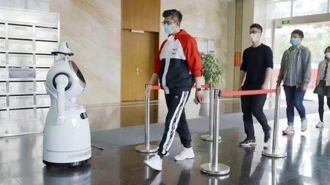 Fever Checking Robot
