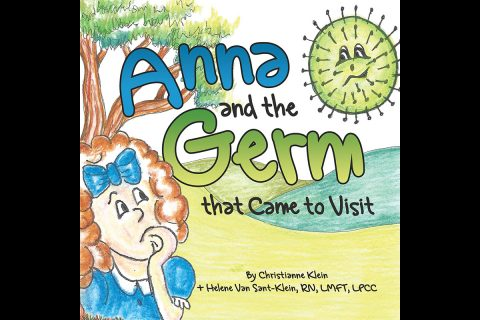 Anna and the Germ that Came to Visit Book Cover.
