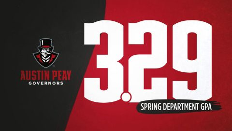 Austin Peay State University student athletes earn a 3.292 grade-point average during the Spring 2020 semester. (APSU Sports Information)