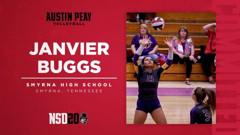 Austin Peay State University Women's Volleyball adds setter Janvier Buggs for 2020 Season. (APSU Sports Information)