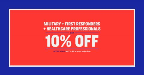 Academy Sports + Outdoors offers Military, First Responder, Healthcare Professional Discount