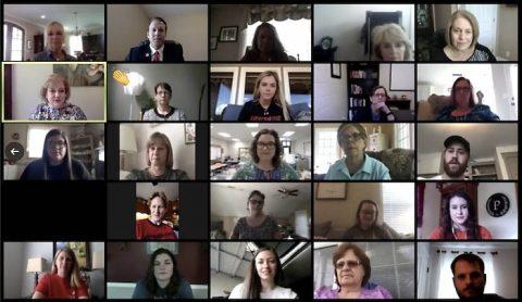 The 2020 Austin Peay State University Virtual Student Teaching Celebration. (APSU)