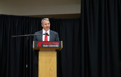 Austin Peay State University military adviser Brig. Gen. Scott Brower. (APSU)