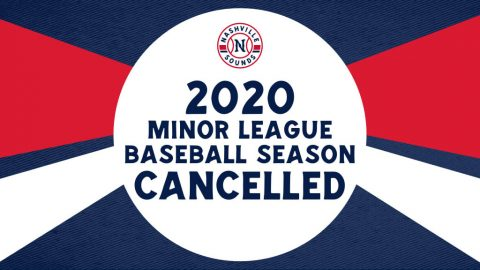 2020 Nashville Sounds and Minor League Baseball Season Cancelled. (Nashville Sounds)