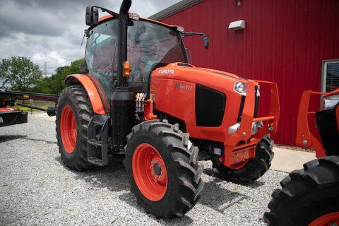 A Kubota tractor loaned to Austin Peay State University Farm. (APSU)