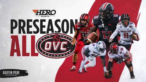 Austin Peay State University has Five Govs named to HERO Sports preseason All-OVC squad. (APSU Sports Information)