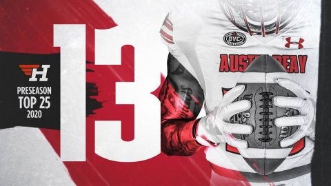 Athlon Sports picks Austin Peay State University Football 13th in Preseason Top 25 2020. (APSU Sports Information)
