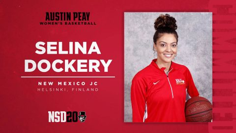 Austin Peay State University Women's Basketball - Selina Dockery. (APSU Sports Information)