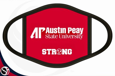 Austin Peay State University Face Mask. (APSU)