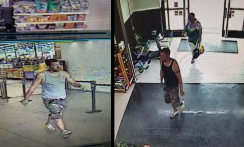 Clarksville Police are trying to identify the person in this photo for theft of purses from two elderly woman.