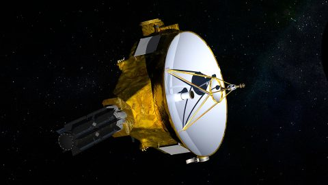 NASA's New Horizons spacecraft. (NASA)