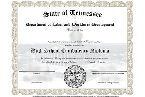 Tennesseans seeking a high school equivalence diploma can now take exams at home