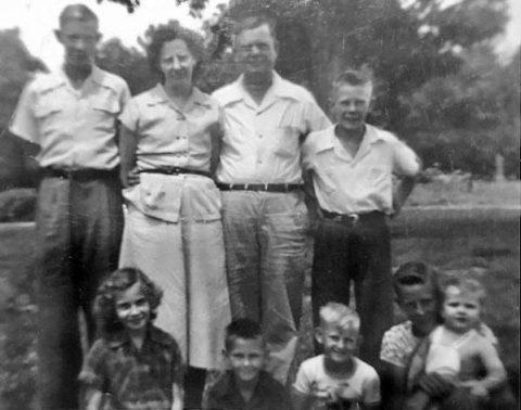 The Jackson Family. (APSU)