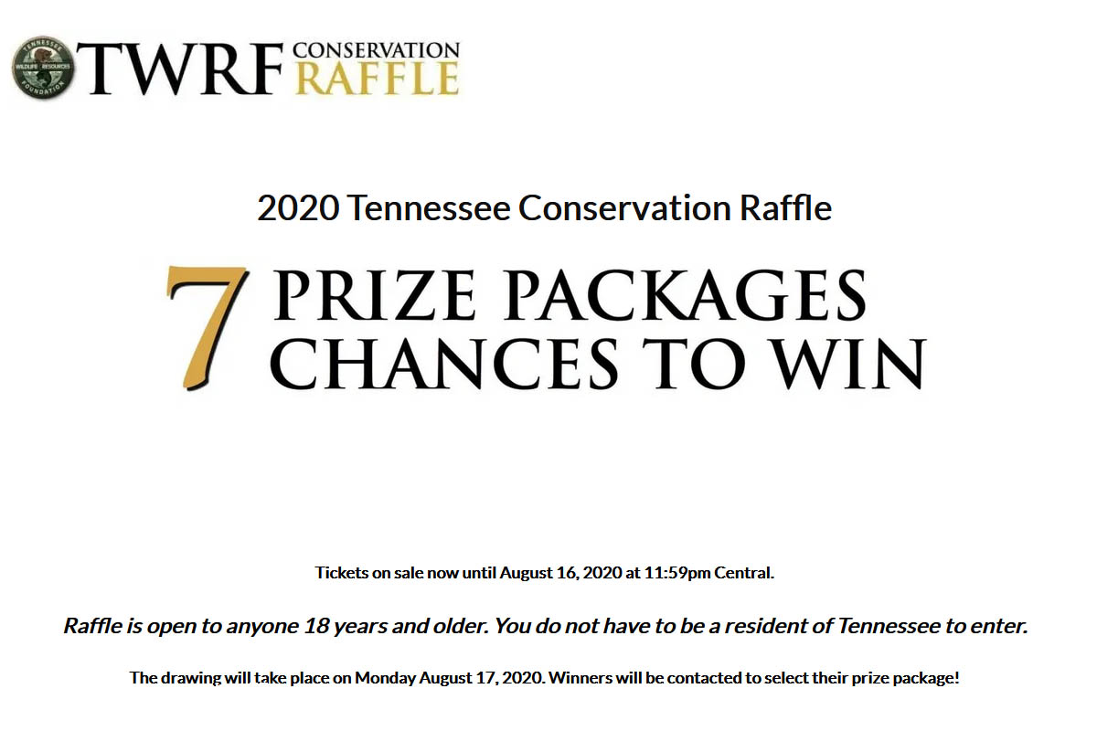 2020 Tennessee Conservation Raffle
