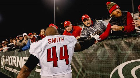 Austin Peay State University football's Josephus Smith. (APSU Sports Information)