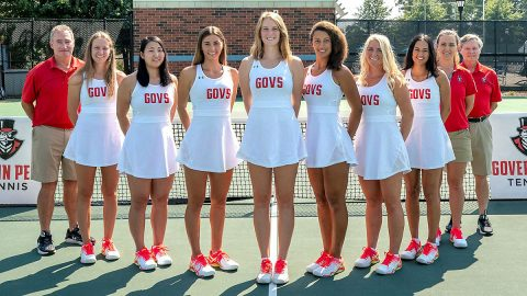 Austin Peay State University Women's Tennis Team. (APSU Sports Information)