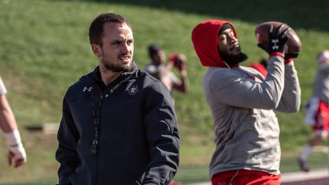 Austin Peay State University football's Chris Campbell named associate head coach and director of sports performance. (APSU Sports Information)